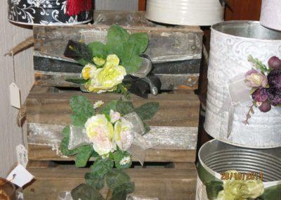 versierde houtkassies